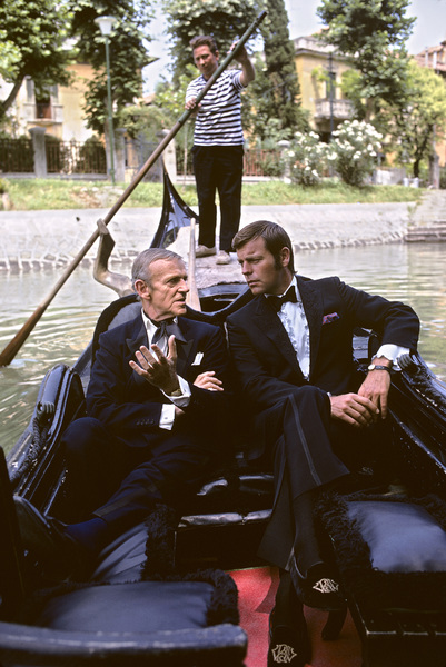 """""""It Takes a Thief""""Fred Astaire, Robert Wagner1969 © 1978 Gene Trindl - Image 14014_0003"""