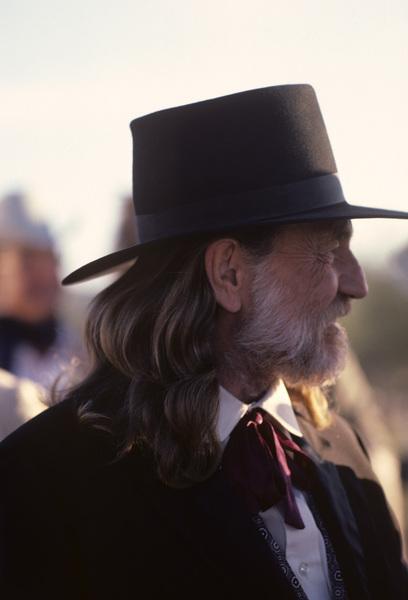 """Stagecoach""Willie Nelson1986© 1986 Gene Trindl - Image 14408_0006"
