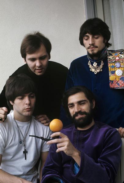 The Rascals (initially known as The Young Rascals)Eddie Brigati, Felix Cavaliere, Gene Cornish, Dino Danelli 1967© 1978 Gene Trindl - Image 14540_0001