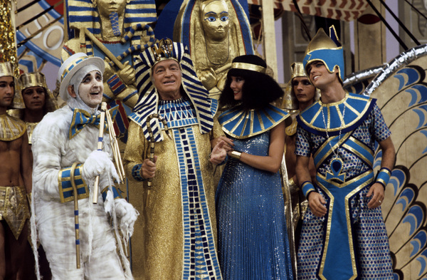 """Donny and Marie""Johnny Dark, Bob Hope, Marie Osmond, Donny Osmondcirca 1976** H.L. - Image 14544_0047"