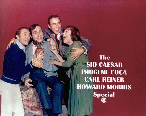 Image result for the sid caesar imogene coca carl reiner howard morris special