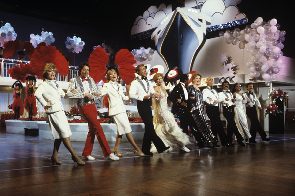 """""""The Love Boat""""Jill Whelan, James A. Osmond, Lauren Tewes, Bernie Kopell, Juliet Prowse, Ben Vereen, Alexis Smith, Gavin MacLeod, Ted Lange, Melba Moore, Fred Grandy1984Photo by Ron Grover - Image 1524_0018"""