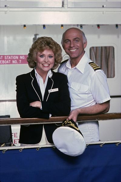 """The Love Boat""Lauren Tewes, Gavin MacLeod1982© 1982 Gene Trindl - Image 1524_0044"