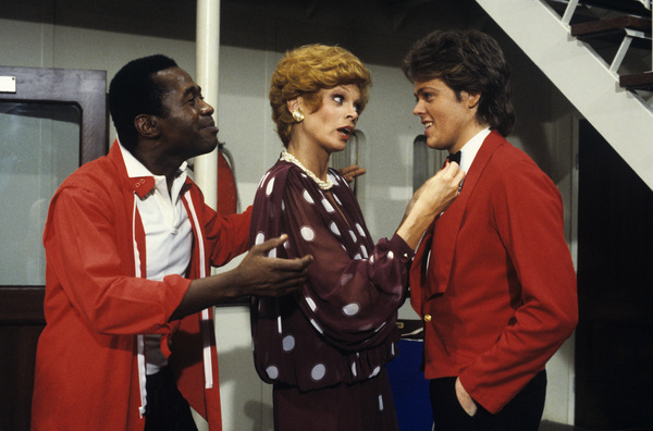 """The Love Boat""Ben Vereen, Juliet Prowse, James A. Osmond1984Photo by Ron Grover - Image 1524_0221"