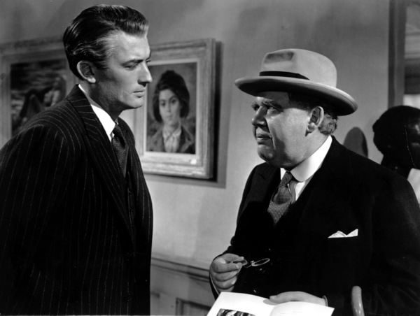 """""""The Paradine Case""""Gregory Peck and Charles Laughton 1947 United Artists**I.V. - Image 1559_0019"""