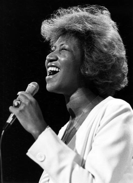 Aretha Franklin circa 1980s** I.V.M. - Image 16105_0042