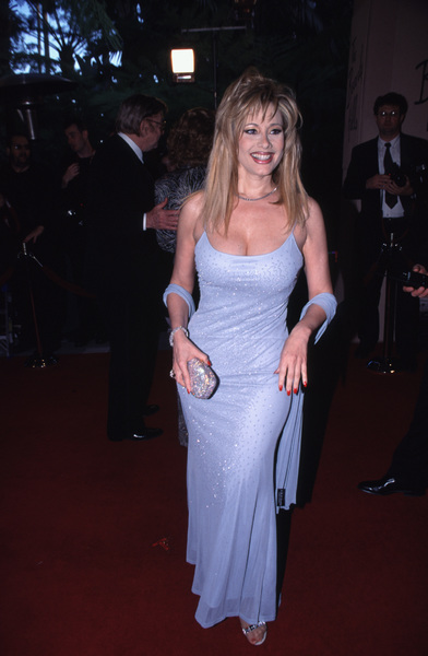 """Night of One Hundred Stars,""Rhonda Shear.  3/26/00 © 2000 Glenn Weiner - Image 16467_0039"