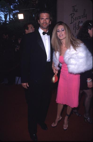 """""""Night of One Hundred Stars,""""Lorenzo Lamas & wife Shauna Sand.3/26/00. © 2000 Scott Weiner - Image 16467_0059"""