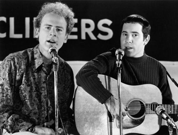 """Paul Simon and Art Garfunkel on """"Songmakers""""1967** I.V.M. - Image 16532_0008"""