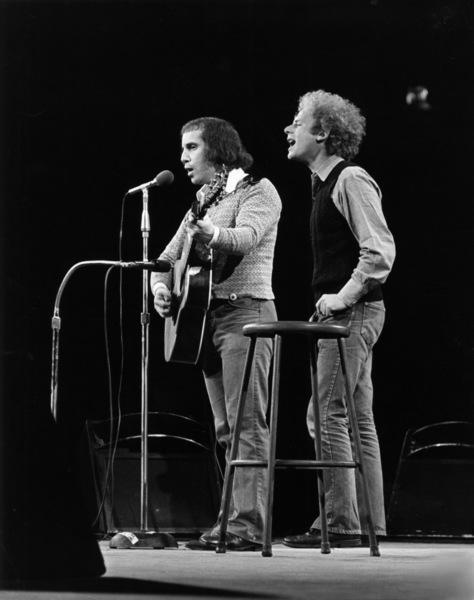 Paul Simon and Art Garfunkelcirca 1970s** I.V.M. - Image 16532_0011