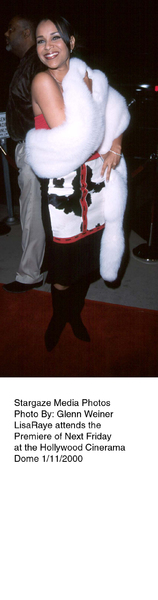 """""""Next Friday"""" Premiere,Lisa Raye.  1/11/00. © 2000 Glenn Weiner - Image 16691_0100"""