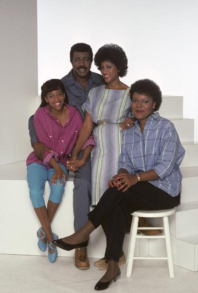 """227""Regina King, Hal Williams, Marla Gibbs, Alaina Reed-Hall1985© 1985 Mario Casilli - Image 16741_0005"