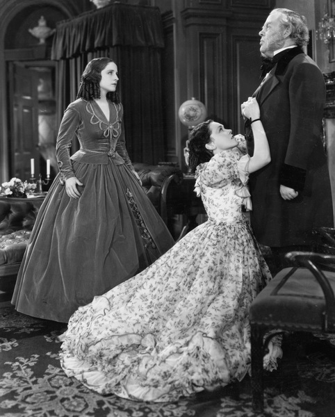 """The Barretts of Wimpole Street""Norma Shearer, Maureen O"