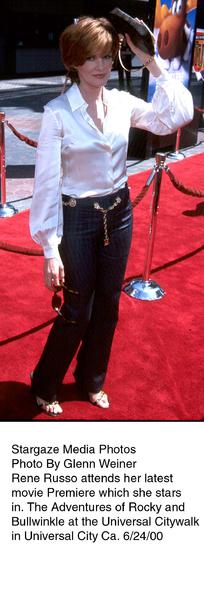"""Adventures of Rocky & Bullwinkle, The"" Premiere,Rene Russo.  6/24/00. © 2000 Glenn Weiner - Image 16957_0105"