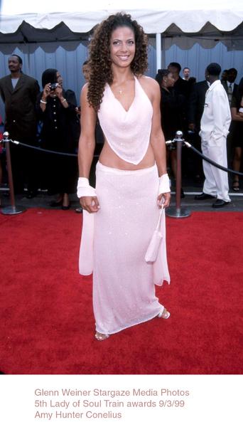 """Lady Of Soul Train Awards - 5th Annual,""Amy Hunter.  9/3/99. © 1999 Glenn Weiner - Image 16977_0107"