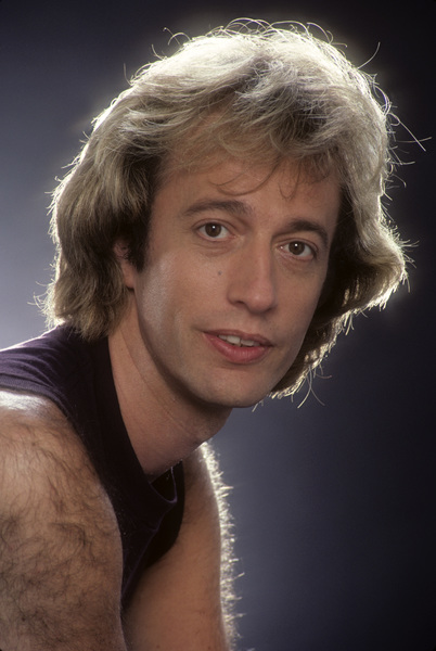 """The Bee Gees""Robin Gibb1983 © 1983 Mario Casilli - Image 17083_0005"