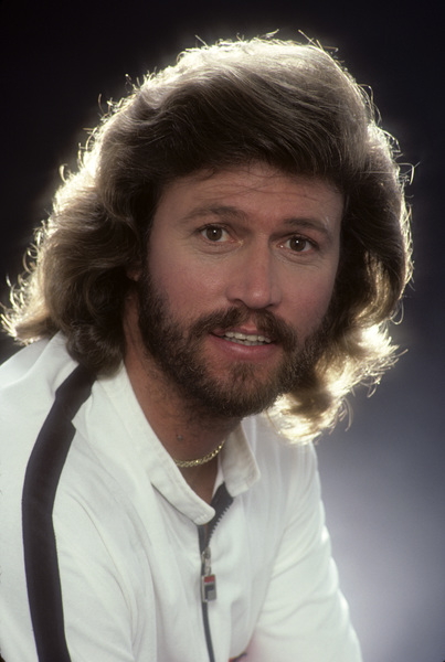 """""""The Bee Gees""""Barry Gibb1983 © 1983 Mario Casilli - Image 17083_0009"""