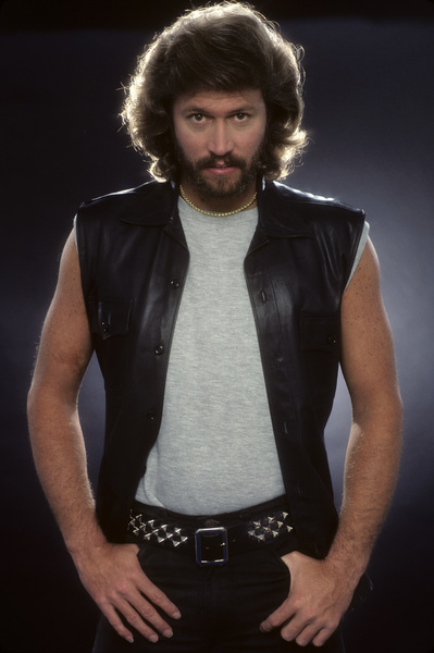 """""""The Bee Gees""""Barry Gibb1983 © 1983 Mario Casilli - Image 17083_0010"""