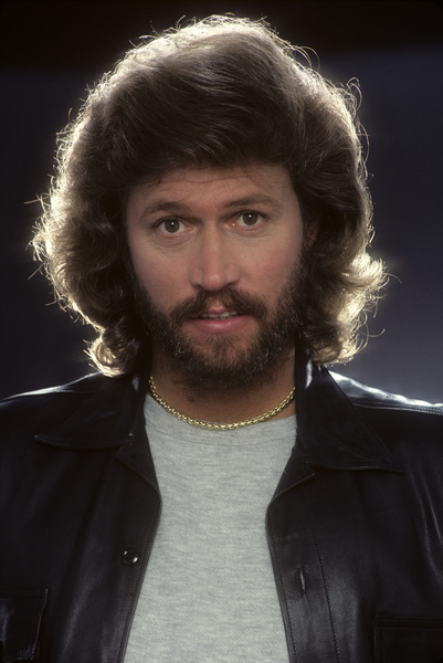 """""""The Bee Gees""""Barry Gibb1983 © 1983 Mario Casilli - Image 17083_0011"""