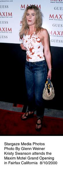 """Maxim Motel Grand Opening Party,""8/10/00.  Kristy Swanson. © 2000 Glenn Weiner - Image 17152_0111"