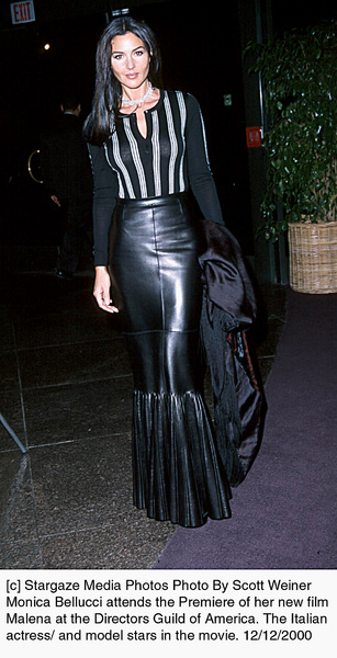 Monica Belluccimalena Premiere  2000 Scott Weiner Image 17356_0101 Most Iconic Images Of The 20th Century Mptv Images