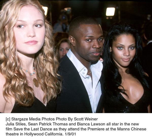 Julia Stiles, Sean Patrick Thomas, Bianca Lawsonat the
