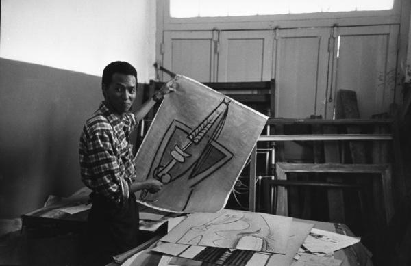 Wifredo Lam in Cuba 1950 © 2000 Mark Shaw - Image 17546_0005