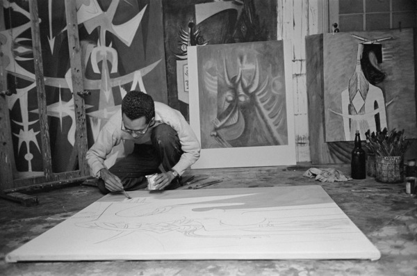 Wifredo Lam in Cuba 1950 © 2016 Mark Shaw - Image 17546_0006