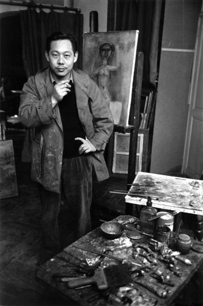 Zao Wou-Kicirca 1951© 2000 Mark Shaw - Image 17547_0001