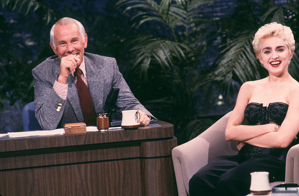 """The Tonight Show""Johnny Carson , Madonna1989 **H.L. - Image 1755_0029"