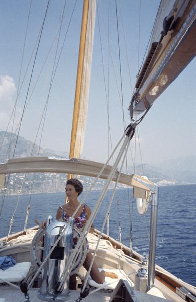 Marcella Caracciolo, wife of Gianni Agnelli in Ravello, Italy1962© 2000 Mark Shaw - Image 17586_0001