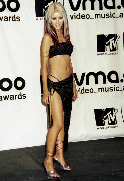 Christina AguileraMTV Video Music Awards: 2000 © 2000 Ariel Ramerez - Image 17591_0166