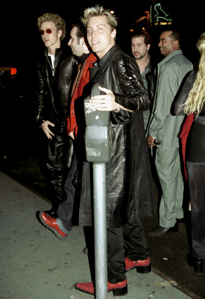 NSYNC Reception Party in New York, 2000.Justin Timberlake, Lance Bass © 2000 Ariel Ramerez - Image 17704_0104