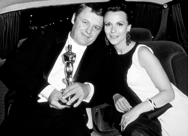 """Academy Awards: 40th Annual,""Rod Steiger and Claire Bloom.(Winner 1968). © 1978 David Sutton - Image 1799_0005"