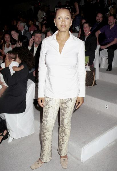 Vanessa Wiliams-FoxNew York Fashion Week, 2000. © 2000 Ariel Ramerez - Image 18002_0117