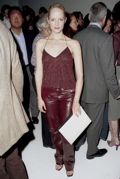 Marley SheltonNew York Fashion Week, 2000. © 2000 Ariel Ramerez - Image 18002_0122