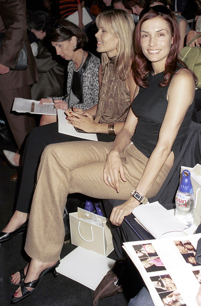 Famke JanssenNew York Fashion Week, 2000. © 2000 Ariel Ramerez - Image 18002_0129