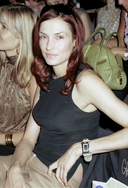 Famke JanssenNew York Fashion Week, 2000. © 2000 Ariel Ramerez - Image 18002_0131