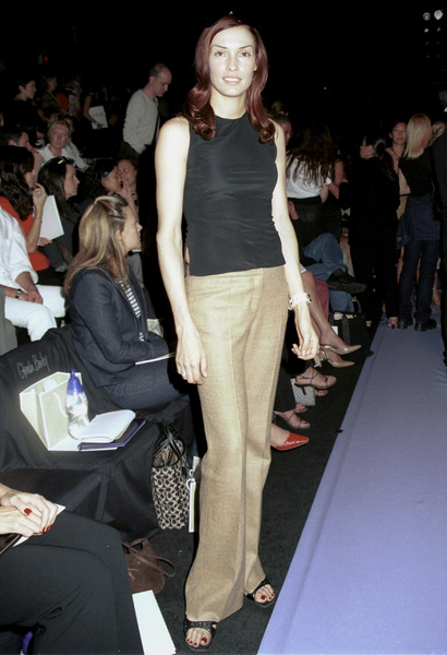 Famke JanssenNew York Fashion Week, 2000. © 2000 Ariel Ramerez - Image 18002_0132