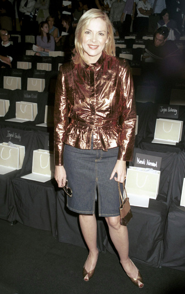Kim CattrallNew York Fashion Week, 2000. © 2000 Ariel Ramerez - Image 18002_0134