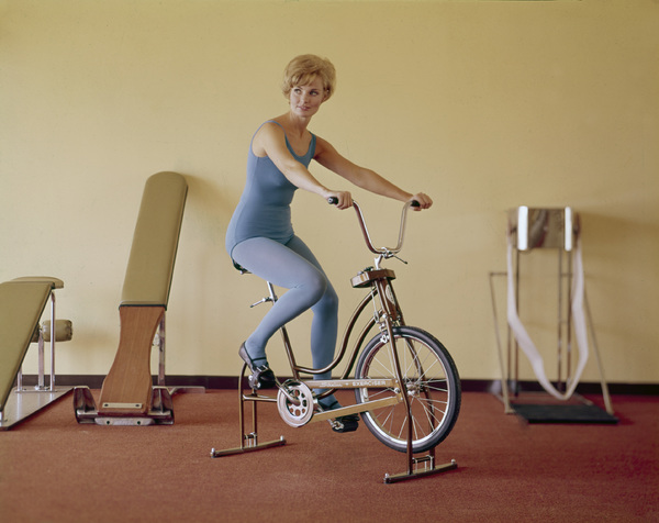 """Working Out / Exercising"" circa 1965 © 1978 Sid Avery - Image 1819_0025"