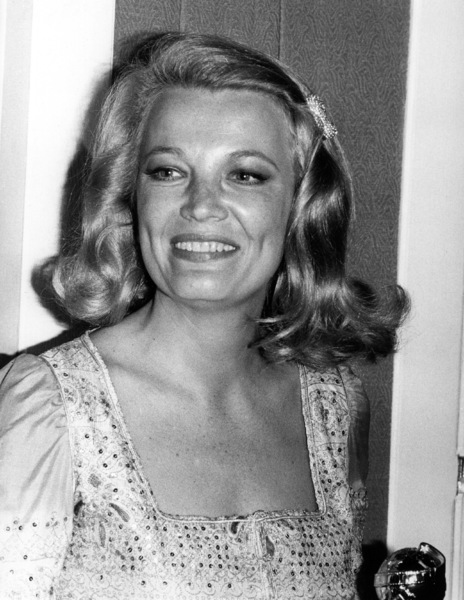 """Golden Globe Awards"" 1972Gena Rowlands © 1978 Kim Maydole Lynch - Image 18294_0004"