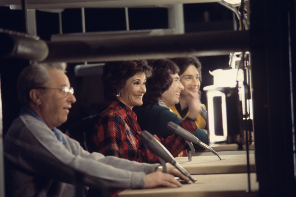 """""""The Hollywood Squares""""George Gobel, Jessica Walter, The Hudson Brothers1975© 1978 Gene Trindl - Image 1880_0054"""