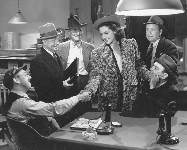 """His Girl Friday""Rosalind Russell1940 Columbia**I.V. - Image 19305_0003"