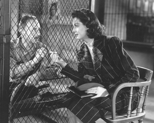 """""""His Girl Friday""""Rosalind Russell1940 Columbia**I.V. - Image 19305_0005"""