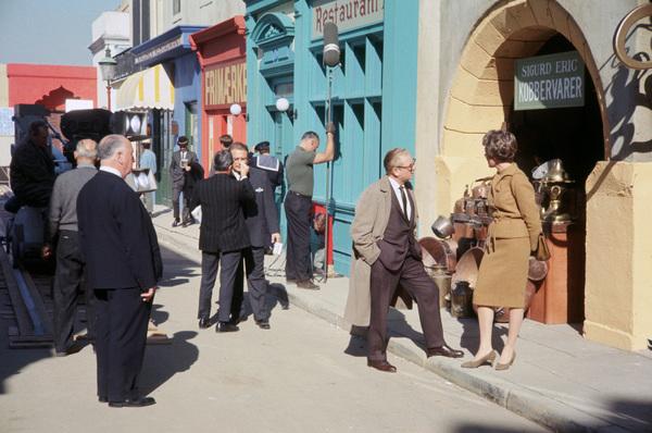 """""""Torn Curtain""""Director Alfred Hitchcock, Julie Andrews1966 Universal** I.V. - Image 1973_01091"""