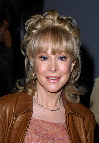 Barbara Eden attends the WB Network party held in Pasadena California 1/15/02 © 2002 Glenn Weiner - Image 19805_0106