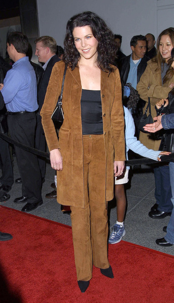 Lauren Graham at the WB Network party held in Pasadena California 1/15/02 Lauren stars in the Gilmore Girls on the WB Network. © 2002 Glenn Weiner - Image 19805_0122