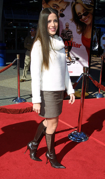 Soleil Moon Frye arrives at the premiere of Big Fat Liar held at the Loews theater in Universal City California 2/2/02. © 2002 Glenn Weiner - Image 19856_0113