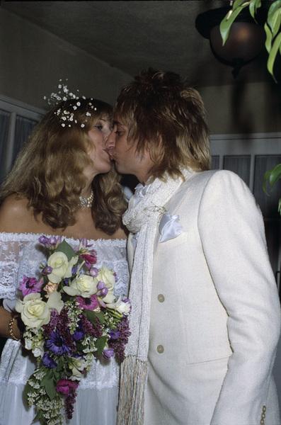 Rod Stewart and Alana 1979© 1979 Gary Lewis - Image 20251_0089